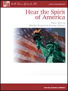 Cover icon of Hear The Spirit Of America sheet music for piano solo (elementary) by Marilyn Briant and Andrew Zatman, beginner piano (elementary)