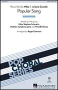 Cover icon of Popular Song sheet music for choir (SATB: soprano, alto, tenor, bass) by Roger Emerson, Ariana Grande, Mathieu Jomphe-Lepine, Mika, Priscilla Renea and Stephen Schwartz, intermediate skill level