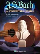 Cover icon of Quia Respexit sheet music for ukulele by Johann Sebastian Bach, classical score, intermediate skill level