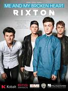 Cover icon of Me And My Broken Heart sheet music for voice, piano or guitar by Rixton, Ammar Malik, Benjamin Levin, Rob Thomas, Steve Mac and Wayne Hector, intermediate skill level