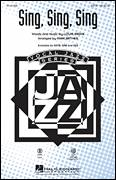Cover icon of Sing, Sing, Sing sheet music for choir (SAB: soprano, alto, bass) by Mark Brymer, Benny Goodman and Louis Prima, intermediate skill level