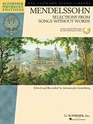 Cover icon of Song Without Words In A Major, Op. 62, No. 6 sheet music for piano solo by Felix Mendelssohn-Bartholdy and Immanuela Gruenberg, classical score, intermediate skill level