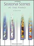 Cover icon of Velvet Winter sheet music for piano solo (elementary) by Naoko Ikeda, beginner piano (elementary)