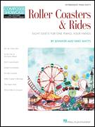 Cover icon of At The Top Of The Ferris Wheel sheet music for piano four hands by Jennifer Watts and Mike Watts, intermediate skill level