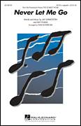 Cover icon of Never Let Me Go sheet music for choir (SATB: soprano, alto, tenor, bass) by Jay Livingston, Paris Rutherford, Dinah Washington and Ray Evans, intermediate skill level