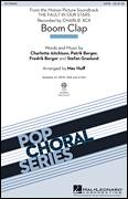 Cover icon of Boom Clap sheet music for choir (SATB: soprano, alto, tenor, bass) by Mac Huff, Charli XCX, Charlotte Aitchison, Fredrik Berger, Patrik Berger and Stefan Graslund, intermediate skill level