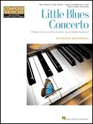 Cover icon of Little Blues Concerto sheet music for piano four hands by Eugenie Rocherolle, intermediate skill level