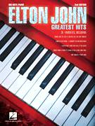 Cover icon of Someone Saved My Life Tonight sheet music for piano solo (big note book) by Elton John and Bernie Taupin, easy piano (big note book)