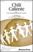 Cover icon of Chili Caliente sheet music for choir (Percussion) by David Giardiniere and Joseph M. Martin, intermediate skill level