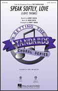Cover icon of Speak Softly, Love (Love Theme) sheet music for choir (SATB: soprano, alto, tenor, bass) by Kirby Shaw, Andy Williams, Larry Kusik and Nino Rota, intermediate skill level