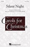 Silent Night for choir (SSA: soprano, alto) - christmas choir sheet music