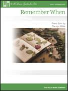 Cover icon of Remember When sheet music for piano solo (elementary) by Carolyn Miller, beginner piano (elementary)
