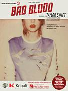 Cover icon of Bad Blood sheet music for voice, piano or guitar by Taylor Swift (feat. Kendrick Lamar), Johan Schuster, Max Martin, Shellback and Taylor Swift, intermediate skill level