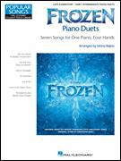 Cover icon of In Summer sheet music for piano four hands by Kristen Anderson-Lopez and Robert Lopez, intermediate skill level