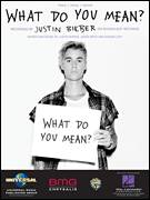 Cover icon of What Do You Mean? sheet music for voice, piano or guitar by Justin Bieber, Jason Boyd and Mason Levy, intermediate skill level
