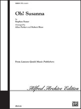 Cover icon of Oh! Susanna sheet music for choir (2-Part) by Stephen Foster and John Leavitt, intermediate duet