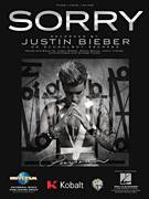 Cover icon of Sorry sheet music for voice, piano or guitar by Justin Bieber, Julia Michaels, Justin Beiber, Justin Tranter, Michael Tucker and Sonny Moore, intermediate skill level
