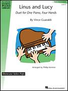 Cover icon of Linus And Lucy sheet music for piano four hands by Vince Guaraldi and Phillip Keveren, intermediate skill level