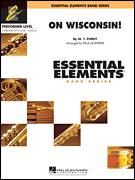 Cover icon of On Wisconsin! (COMPLETE) sheet music for concert band by Paul Lavender, Carl Beck and W.T. Purdy, intermediate skill level