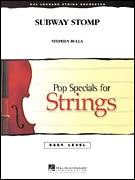 Cover icon of Subway Stomp (COMPLETE) sheet music for orchestra by Stephen Bulla, intermediate skill level