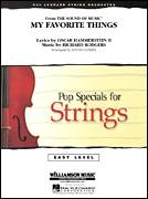 Cover icon of My Favorite Things (COMPLETE) sheet music for orchestra by Richard Rodgers, Chicago, Lloyd Conley, Lorrie Morgan and Oscar II Hammerstein, intermediate skill level