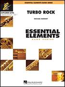 Cover icon of Turbo Rock (COMPLETE) sheet music for concert band by Michael Sweeney, intermediate skill level