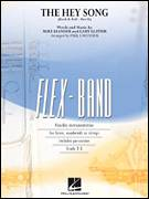 Cover icon of The Hey Song (Rock and Roll Part II) (Flex-Band) sheet music for concert band (pt.5 - Bb bass clarinet) by Gary Glitter, Paul Lavender and Mike Leander, intermediate skill level