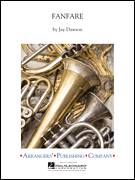 Cover icon of Fanfare (COMPLETE) sheet music for concert band by Jay Dawson, intermediate skill level