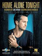 Cover icon of Home Alone Tonight sheet music for voice, piano or guitar by Luke Bryan feat. Karen Fairchild, Luke Bryan, Cole Taylor, Jaida Dreyer, Jody Stevens and Tommy Cecil, intermediate skill level