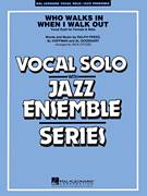 Cover icon of Who Walks In When I Walk Out? (Key: D minor) sheet music for jazz band (alto sax 1) by Al Hoffman, Rick Stitzel, Ella Fitzgerald, Louis Armstrong, Al Goodhart and Ralph Freed, intermediate skill level