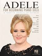Cover icon of Chasing Pavements sheet music for piano solo (big note book) by Adele, Adele Adkins and Francis White, easy piano (big note book)