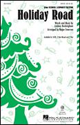 Cover icon of Holiday Road sheet music for choir (3-Part Mixed) by Lindsey Buckingham and Roger Emerson, intermediate skill level