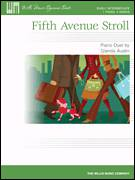 Cover icon of Fifth Avenue Stroll sheet music for piano four hands by Glenda Austin, intermediate skill level