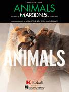 Cover icon of Animals sheet music for voice, piano or guitar by Maroon 5, Adam Levine, Benjamin Levin and Shellback, intermediate skill level