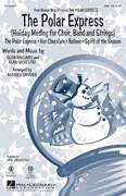 Cover icon of The Polar Express (Holiday Medley) sheet music for choir (SAB: soprano, alto, bass) by Glen Ballard, Audrey Snyder, Josh Groban, Paul Murtha and Alan Silvestri, intermediate skill level