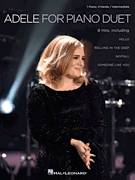 Cover icon of Hello sheet music for piano four hands by Adele, Eric Baumgartner, Adele Adkins and Greg Kurstin, intermediate skill level
