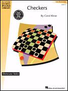 Cover icon of Checkers sheet music for piano solo (elementary) by Carol Klose and Miscellaneous, beginner piano (elementary)
