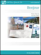 Cover icon of Bonjour sheet music for piano solo (elementary) by Carolyn Miller, beginner piano (elementary)