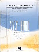 Cover icon of Pixar Movie Favorites (COMPLETE) sheet music for concert band by Michael Brown, intermediate skill level