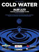 Cover icon of Cold Water (featuring Justin Bieber and MO) sheet music for voice, piano or guitar by Major Lazer, Major Lazer feat. Justin Bieber and MA�Au, Major Lazer featuring Justin Bieber and MO, MO, Benjamin Levin, Ed Sheeran, Henry Allen, Jamie Scott, Justin Bieber, Karen Marie Orsted, Philip Meckseper and Thomas Wesley Pentz, intermediate skill level