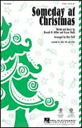 Cover icon of Someday At Christmas (arr. Mac Huff) sheet music for choir (2-Part) by Bryan Wells, Mac Huff, Stevie Wonder and Ronald N. Miller, intermediate duet