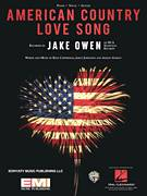 Cover icon of American Country Love Song sheet music for voice, piano or guitar by Jake Owen, Ashley Gorley, Jaren Johnston and Ross Copperman, intermediate skill level