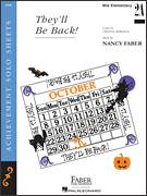 Cover icon of They'll be Back! sheet music for piano solo by Nancy Faber and Crystal Bowman, intermediate/advanced skill level