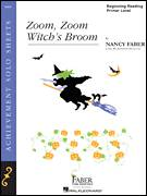 Cover icon of Zoom, Zoom, Witch's Broom sheet music for piano solo by Nancy Faber and Jennifer MacLean, intermediate/advanced skill level