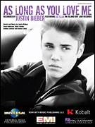 Cover icon of As Long As You Love Me (featuring Big Sean) sheet music for voice, piano or guitar by Justin Bieber, Big Sean, Andre Lindal, Nasri Atweh, Rodney Jerkins and Sean Anderson, intermediate skill level