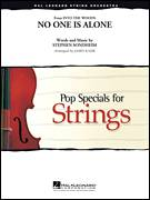 Cover icon of No One Is Alone (from Into The Woods) (COMPLETE) sheet music for orchestra by Stephen Sondheim and James Kazik, intermediate skill level