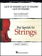 Cover icon of Let It Snow! Let It Snow! Let It Snow! (COMPLETE) sheet music for orchestra by Jule Styne, Joe Nichols and Robert Longfield, intermediate skill level