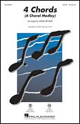 Cover icon of 4 Chords (A Choral Medley) sheet music for choir (SAB: soprano, alto, bass) by Elton John, Mark Brymer and Tim Rice, intermediate skill level