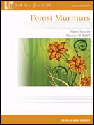 Cover icon of Forest Murmurs sheet music for piano solo (elementary) by Carolyn C. Setliff, beginner piano (elementary)