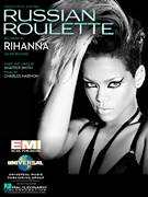 Cover icon of Russian Roulette sheet music for voice, piano or guitar by Rihanna, Charles Harmon and Shaffer Smith, intermediate skill level